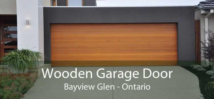 Wooden Garage Door Bayview Glen - Ontario