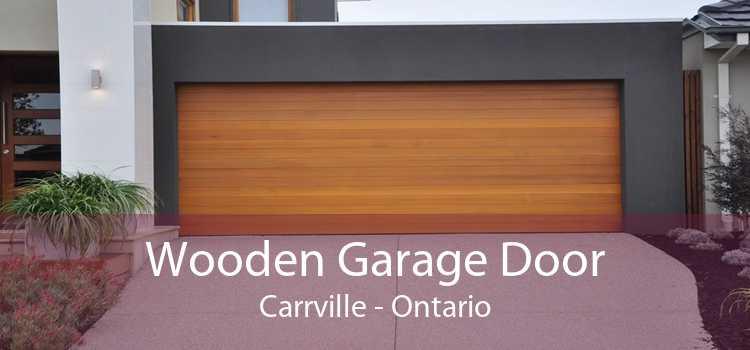 Wooden Garage Door Carrville - Ontario