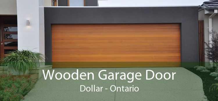 Wooden Garage Door Dollar - Ontario