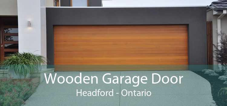 Wooden Garage Door Headford - Ontario