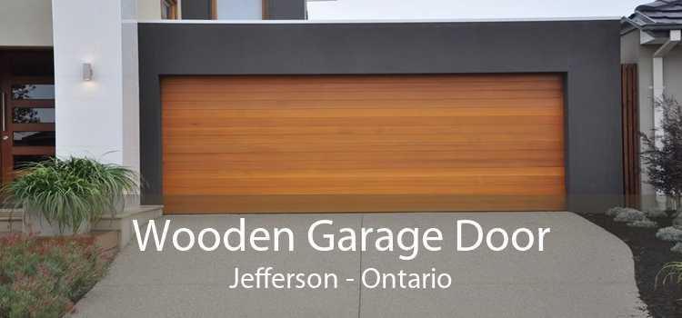 Wooden Garage Door Jefferson - Ontario