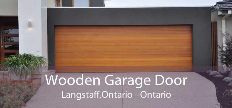 Wooden Garage Door Langstaff,Ontario - Ontario